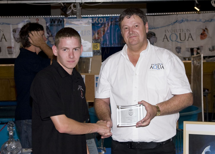 2011 Open Show Visitors Favourite winner Dave Halkyard
